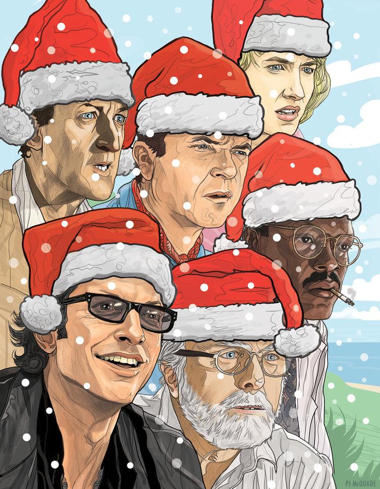 Jurassic-Park-Christmas-card-PJ-McQuade.jpg