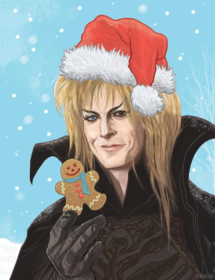 Labrinyth-Christmas-Jareth-David-Bowie-Christmas-Card-PJ-McQuade.jpg