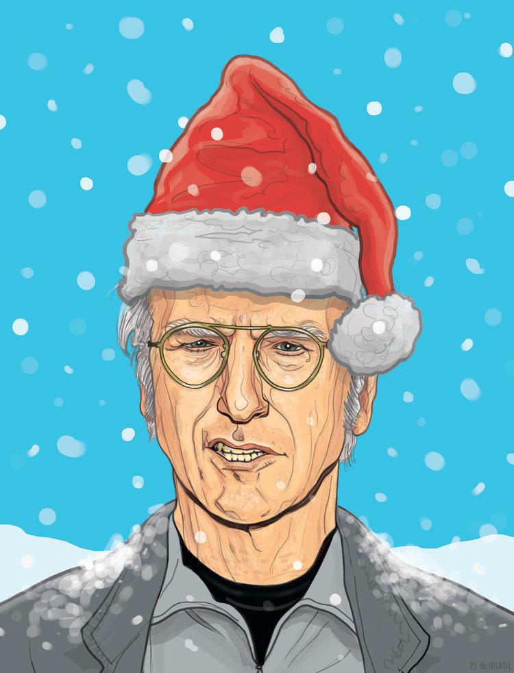 Larry-David-Holiday-card-PJ-McQuade.jpg