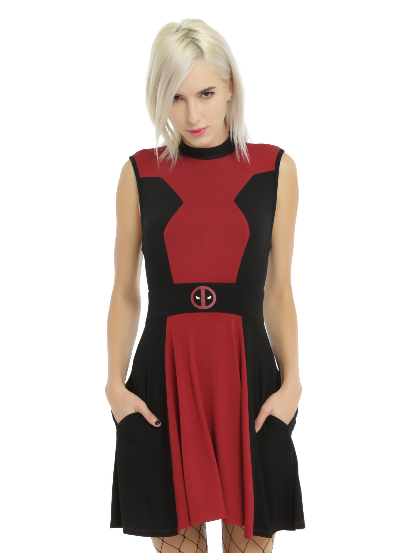1878b214c3 Check Out This Marvel DEADPOOL Cosplay Dress from Hot Topic — GeekTyrant