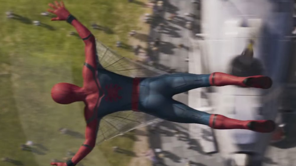 7454b9a1888 First SPIDER-MAN: HOMECOMING Trailer Tease Features Web Wings and Happy  Hogan!