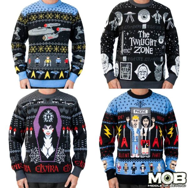 Check Out These Cool Geek Culture Ugly Christmas Sweaters Geektyrant