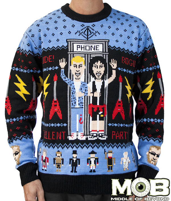 check out these cool geek culture ugly christmas