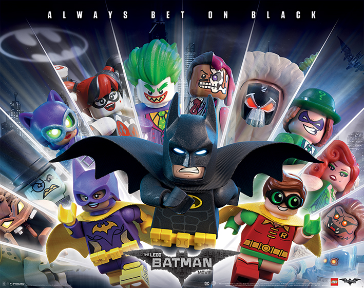 Huge Collection Of Delightful Posters For The Lego Batman