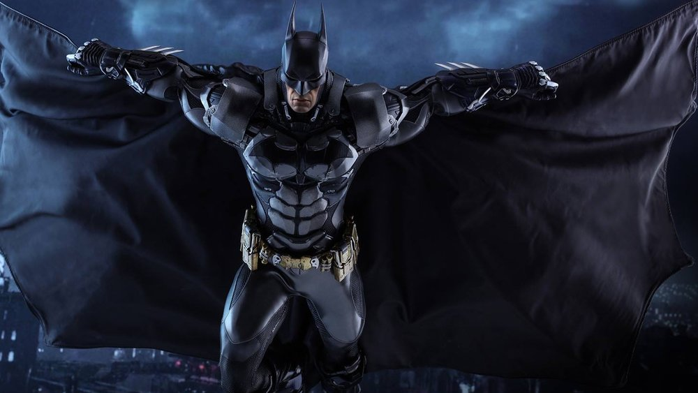 damn hot toys batman arkham knight action figure is