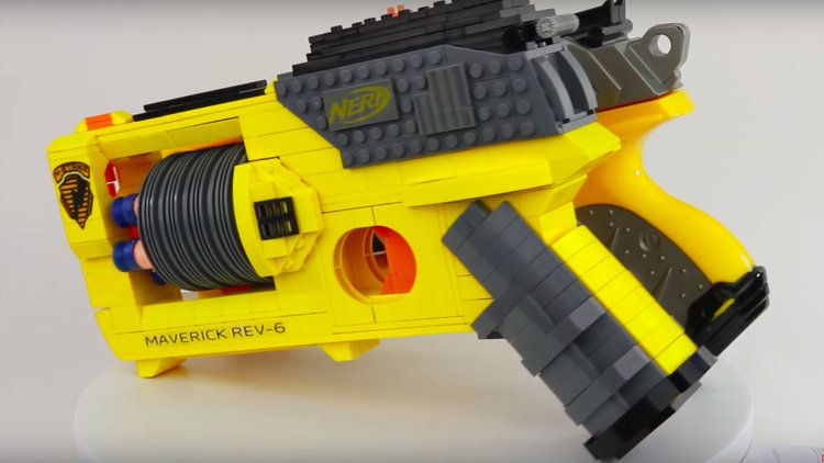 If you grew up in the '80s and '90s, there's a good chance you spent  countless hours playing with LEGO and Nerf guns. Now, the YouTubers over at  ...