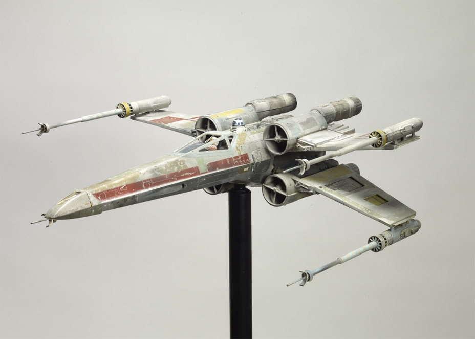 An X-wing model from A New Hope