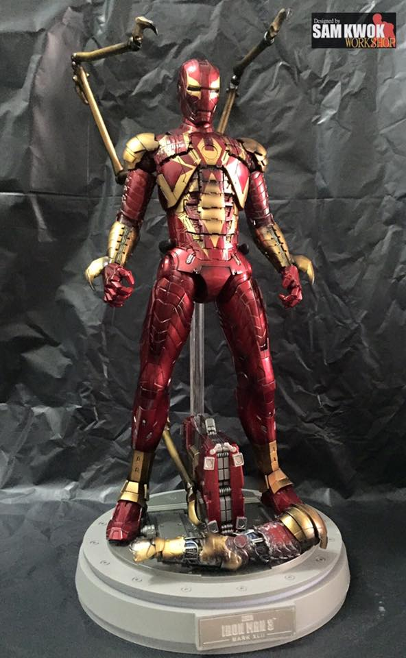 Coolest Man Toys : Cool custom made hot toys spider man action figures iron
