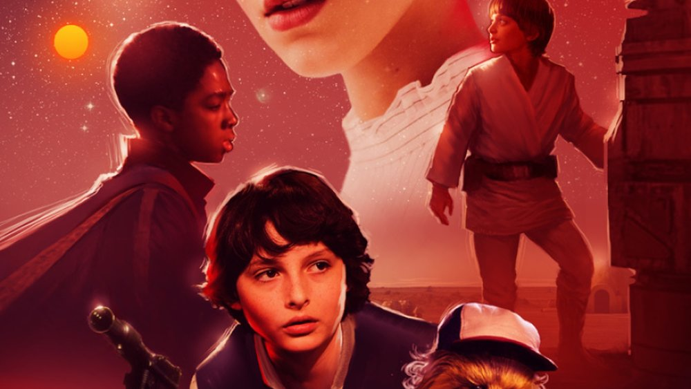Stranger Things Kids Get Their Own Awesome Star Wars