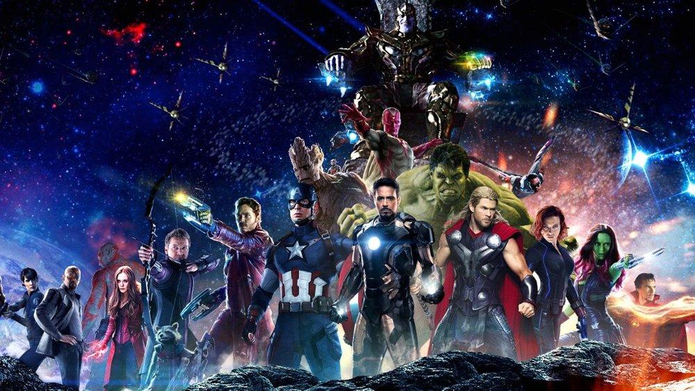 Marvel Cinematic Universe - Magazine cover