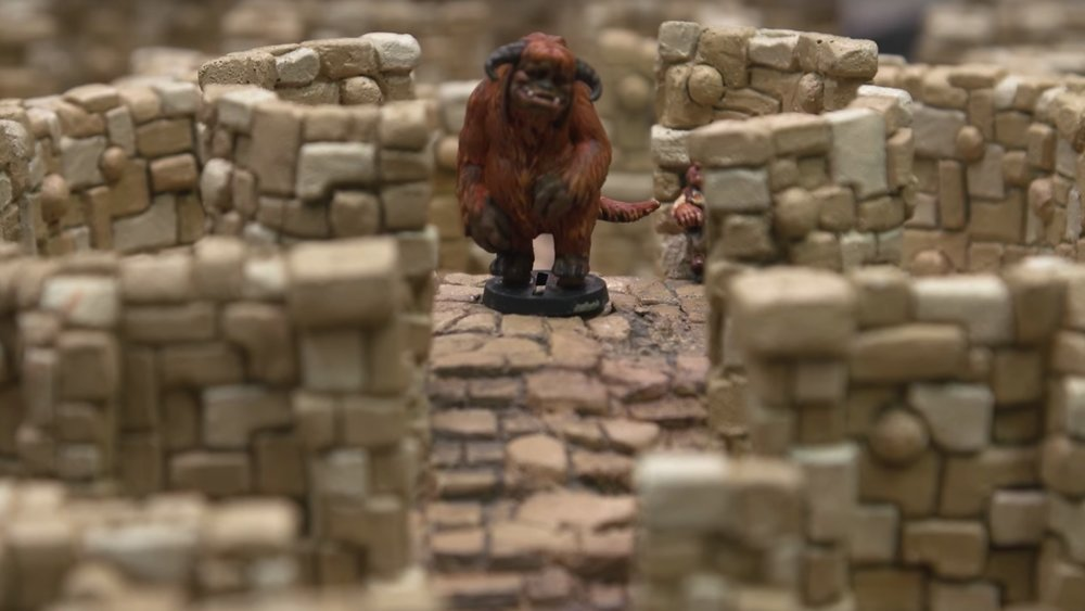 Adam Savage Shows Off Insane Board Game for Jim Henson's LABYRINTH From Weta Workshop Sculpture