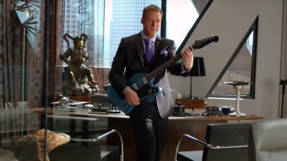 New POWERLESS Promo Spots Reveal Alan Tudyk Is Bruce Wayne's Cousin