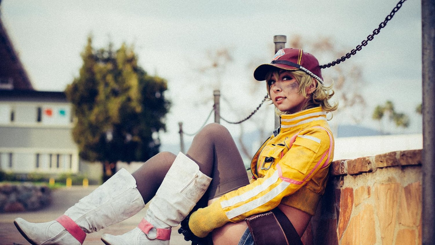 Cindy Is Taking A Break From Cars In Awesome Final Fantasy Xv