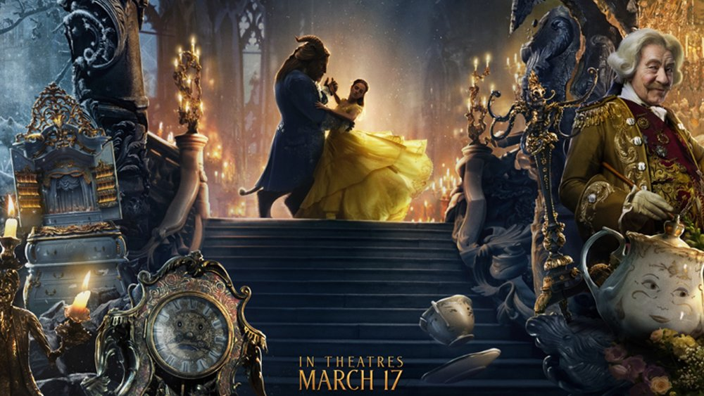 Beautifully Cool New Banner For Disneys BEAUTY AND THE BEAST Combines All The Characters And Settings
