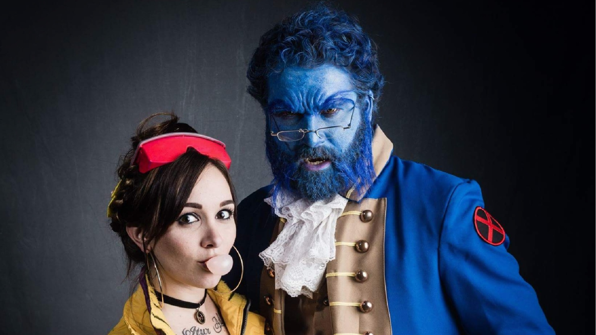 Beauty And The Beast Get An X Men Makeover In This Phenomenal