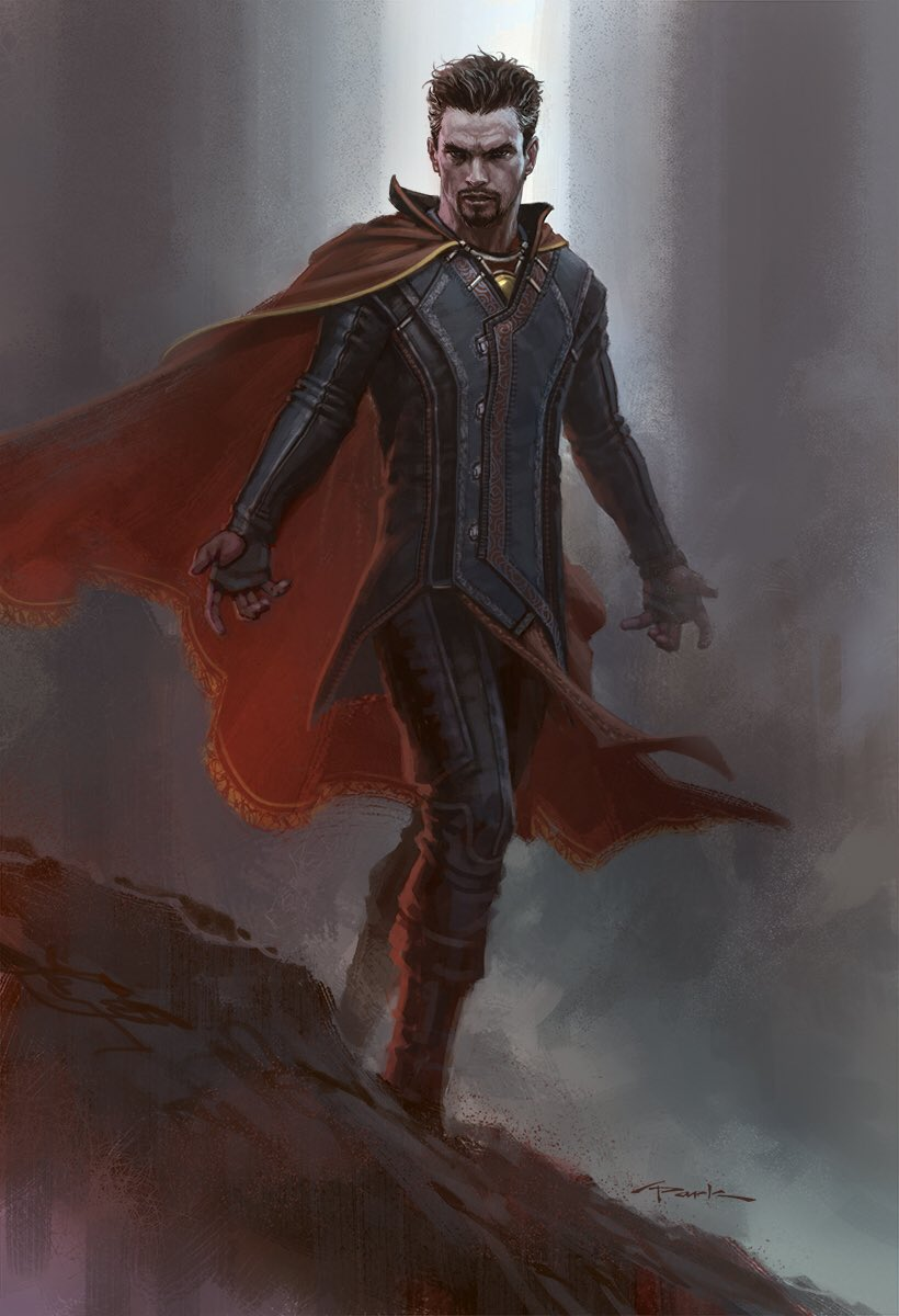 DOCTOR STRANGE Concept Art Shows Off a Slick-Looking ...