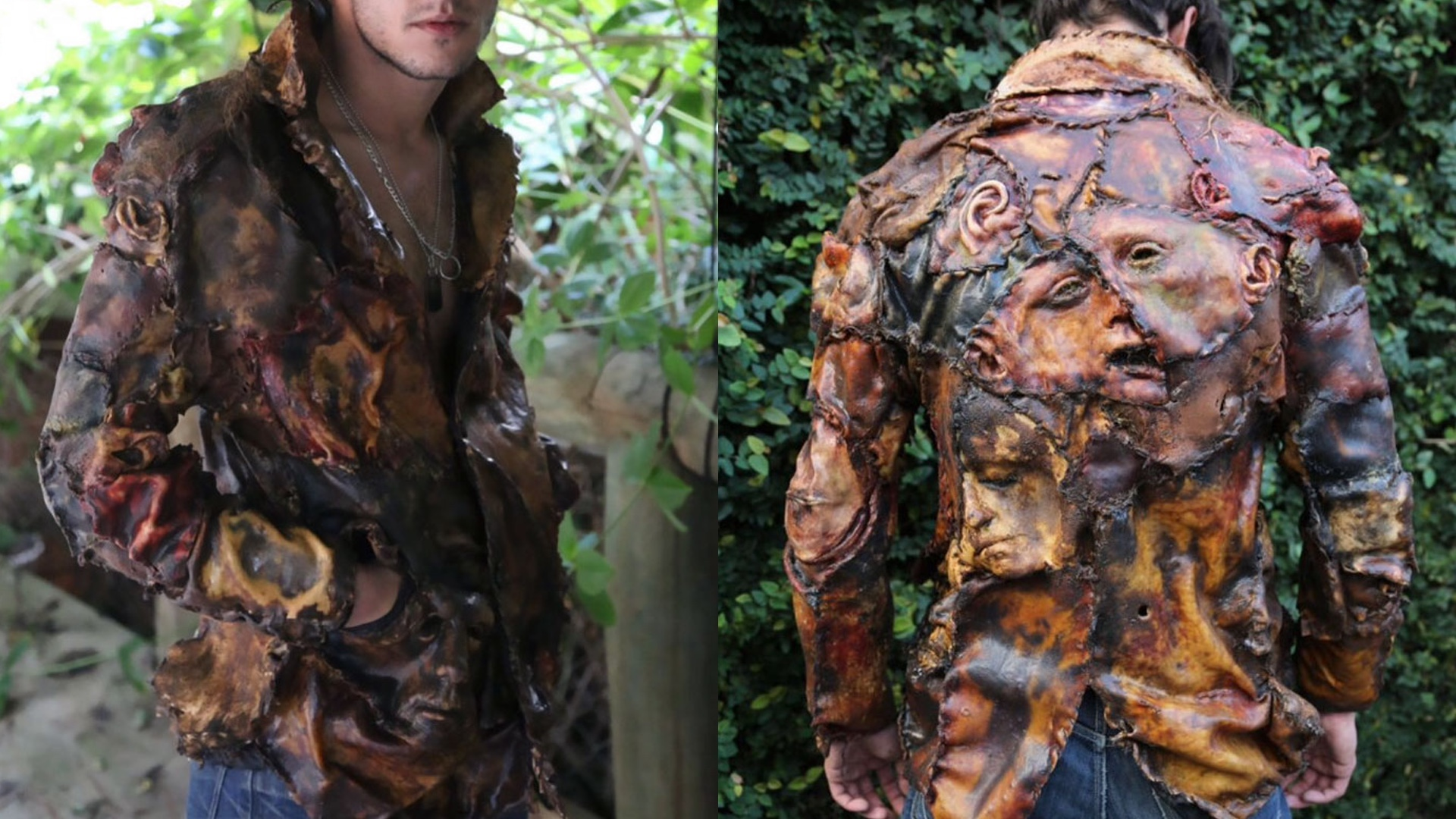serial killer inspired clothing line looks like it s made out of