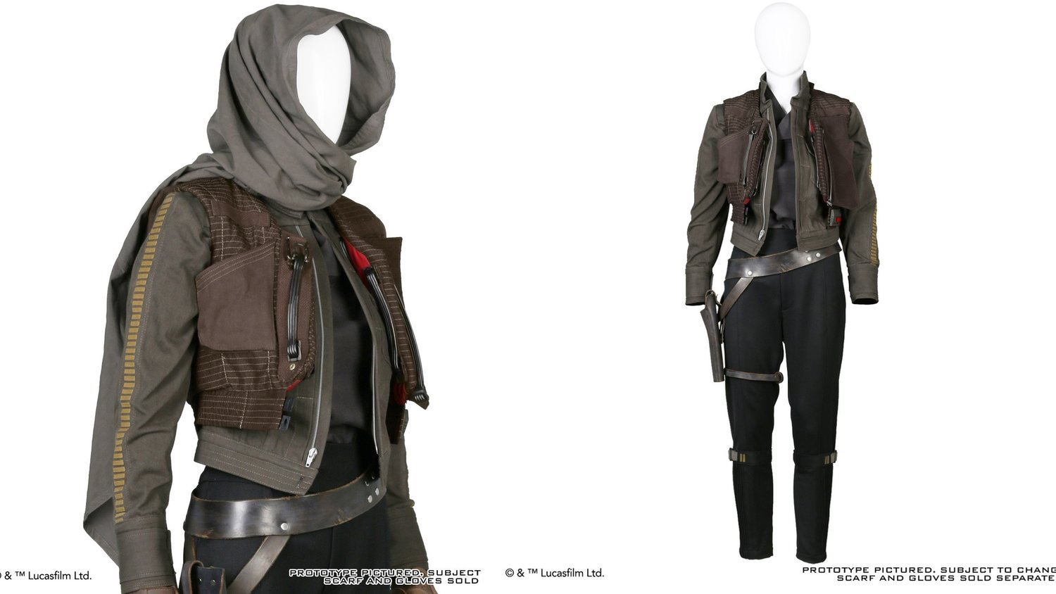 Anovos Reveals Their Awesome ROGUE ONE Jyn Erso Costume