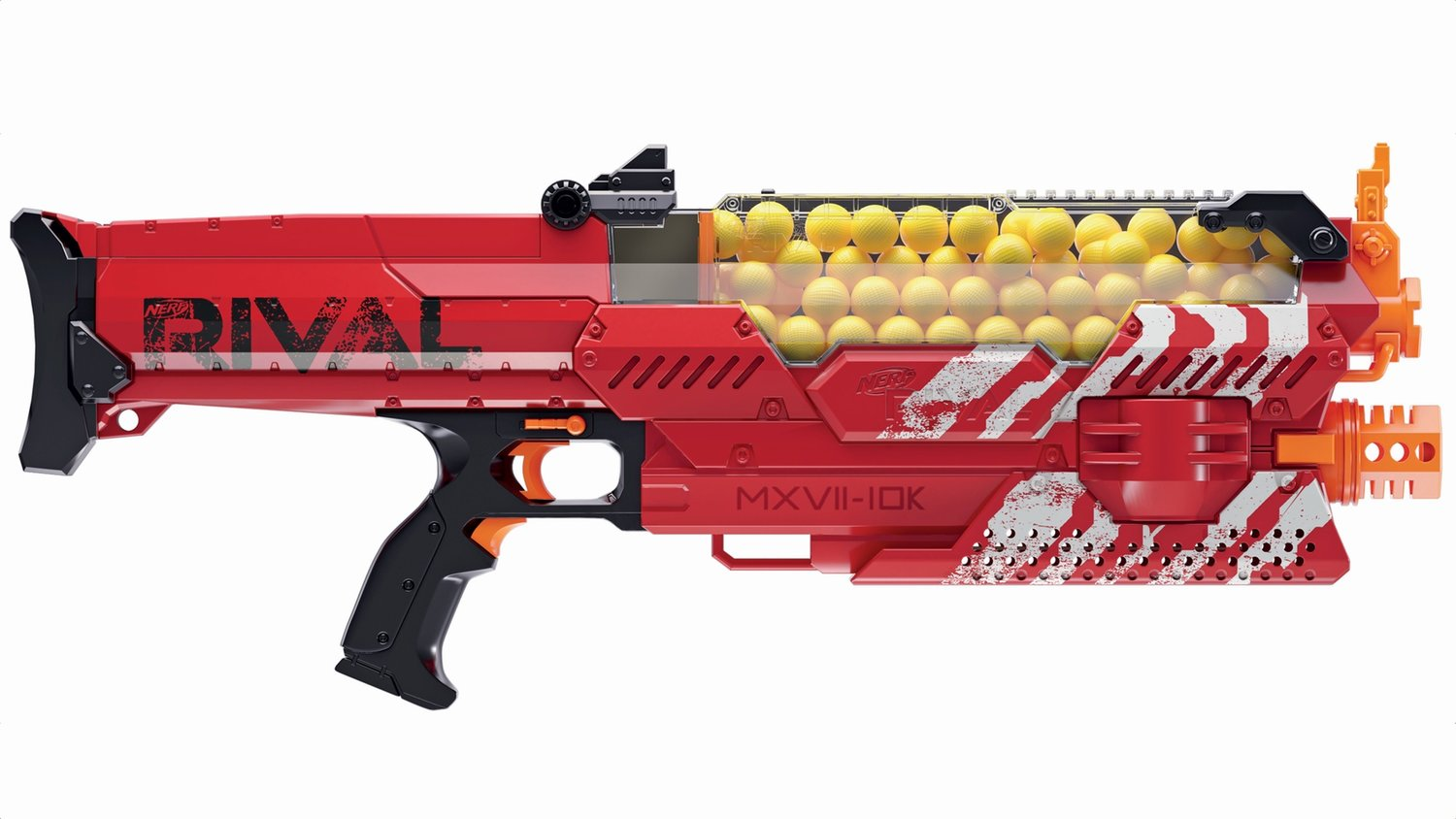 Nerf's Awesome New Rival Nemesis Gun Blasts 100 Rounds at 70 MPH