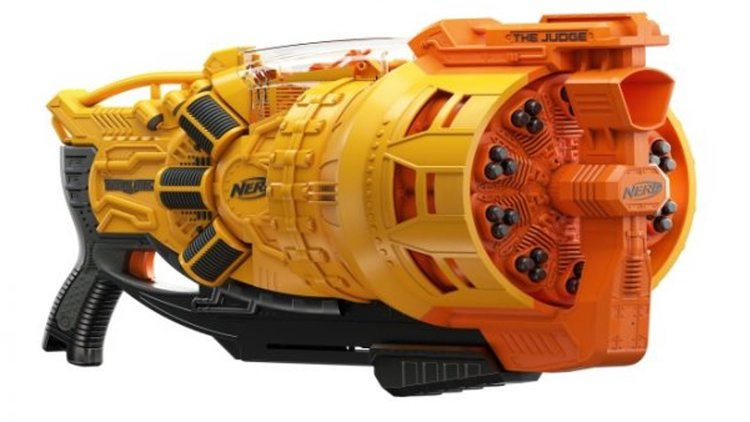 Earlier this week, we got our first look at Nerf's Rival Nemesis MXVII-10K  gun. We now have our first look at their badass Doomlands Blaster called  The ...