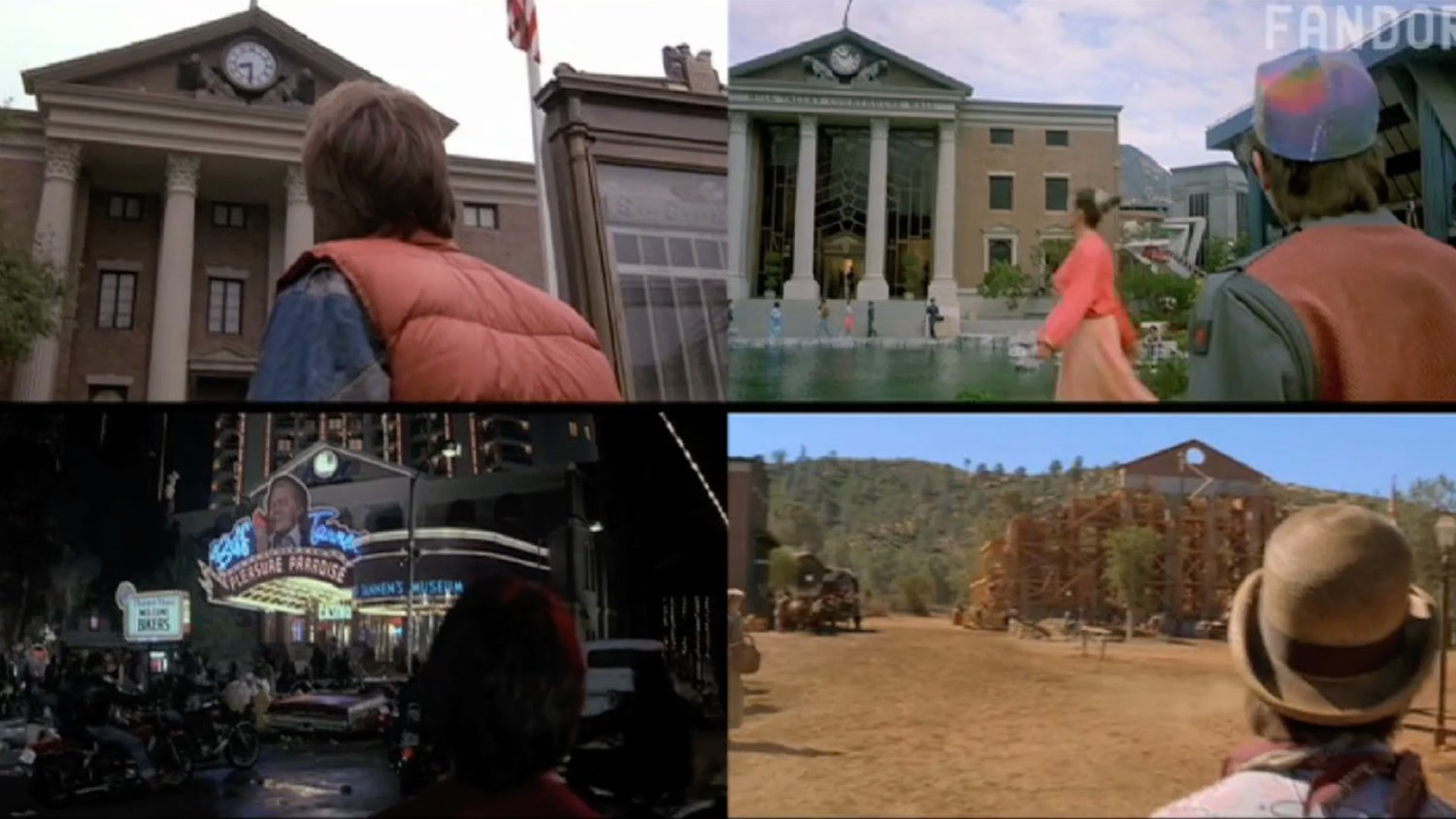 BACK TO THE FUTURE Tribute Video Compares Every Version of Hill Valley