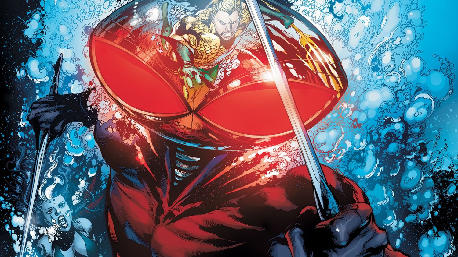Black Manta Has Been Cast in James Wan's AQUAMAN and Nicole Kidman Is in Talks to Join
