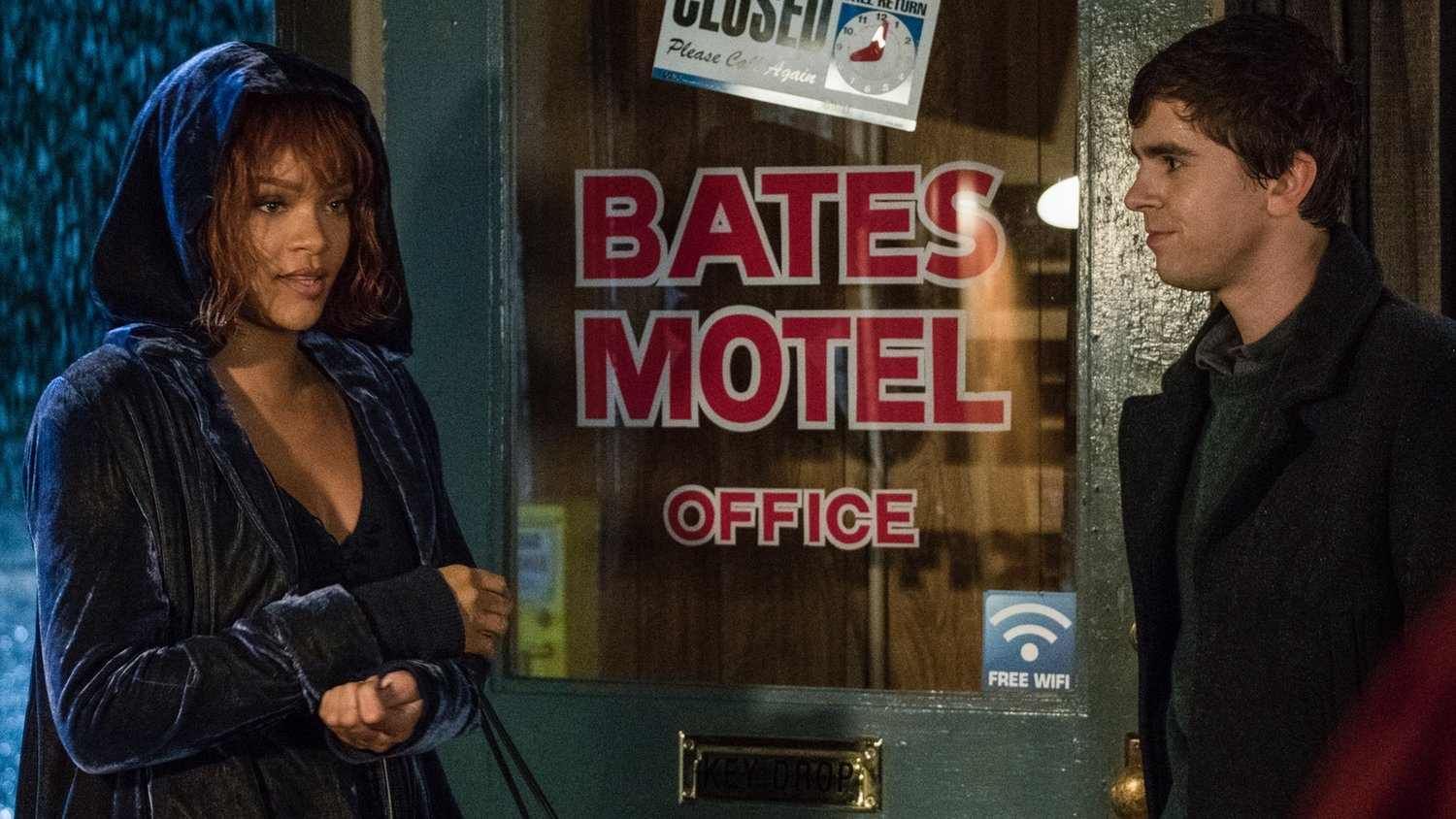 Intense Trailer for BATES MOTEL Season 5 Offers First Look at Rihanna as Marion Crane