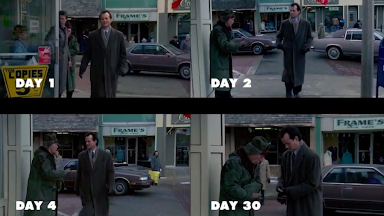 See Every Cycle of GROUNDHOG DAY Play Simultaneously