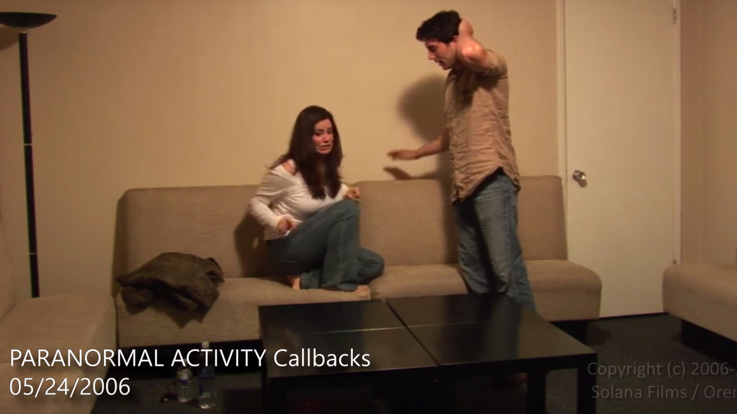 PARANORMAL ACTIVITY: Watch Katie and Micah's Original Improvised Auditions