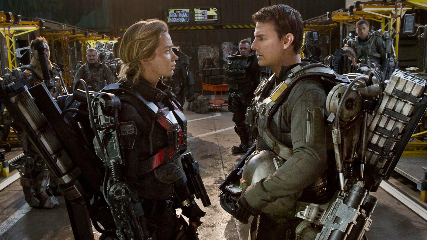Here's What EDGE OF TOMORROW Might Look Like as a Cheesy '90s Comedy