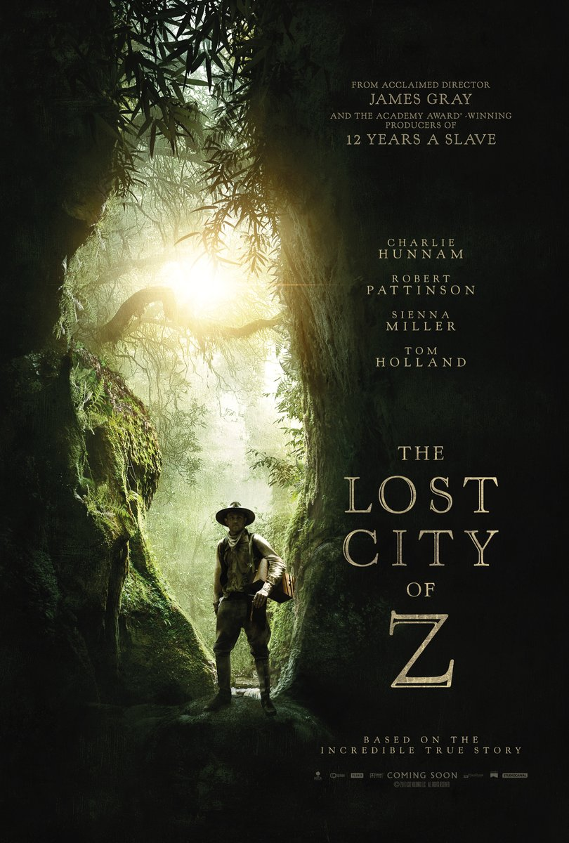 Adventurous New Trailer for THE LOST CITY OF Z with Charlie Hunnam and Tom Holland
