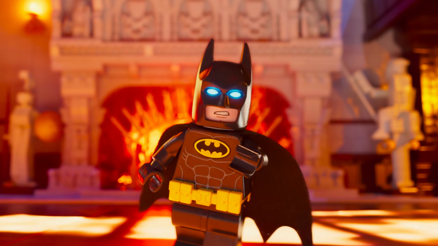 Batman Gives You a Tour of THE LEGO BATMAN MOVIE's Wayne Manor in