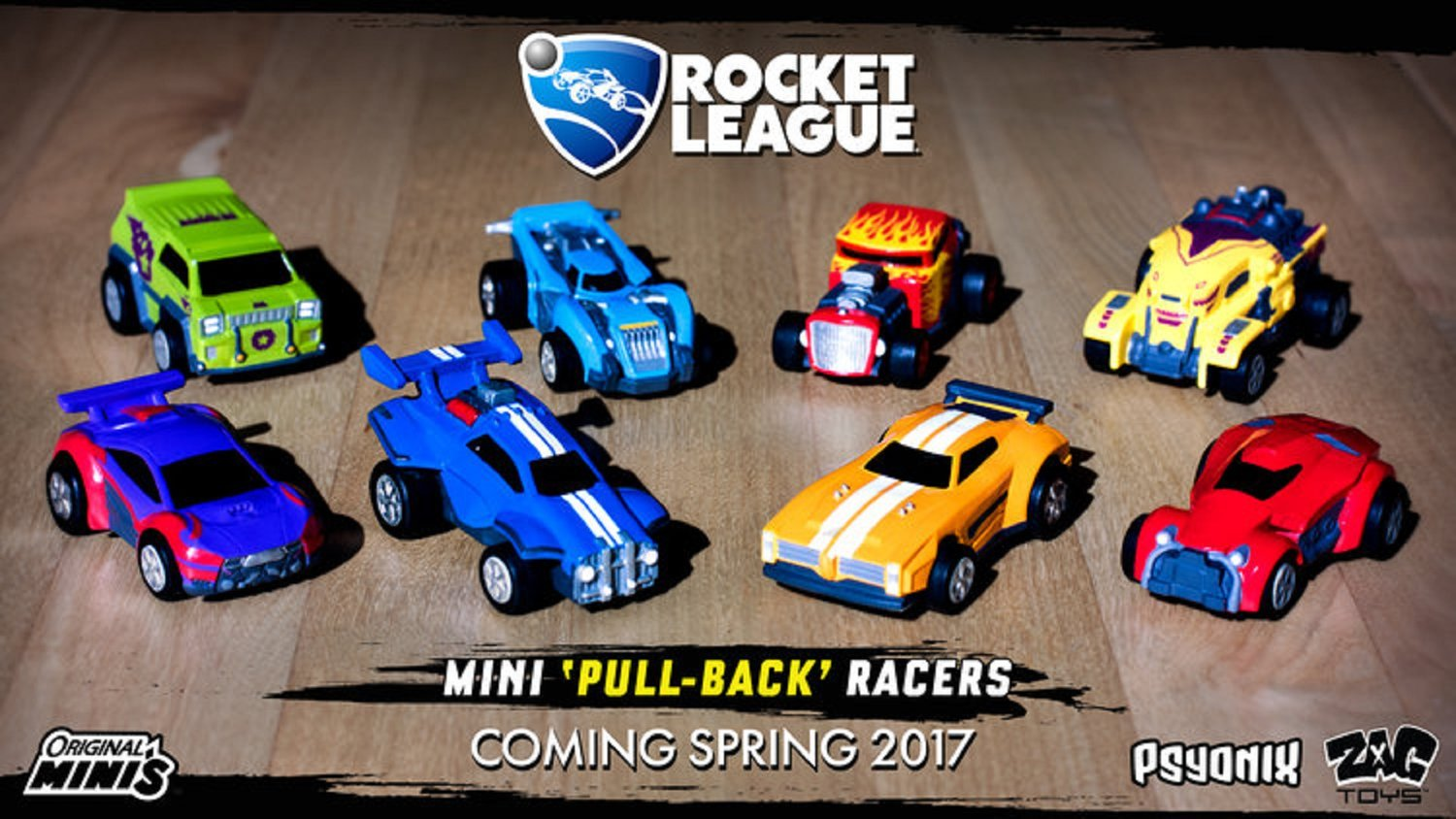 ROCKET LEAGUE Pull Back Toys Are Coming Soon