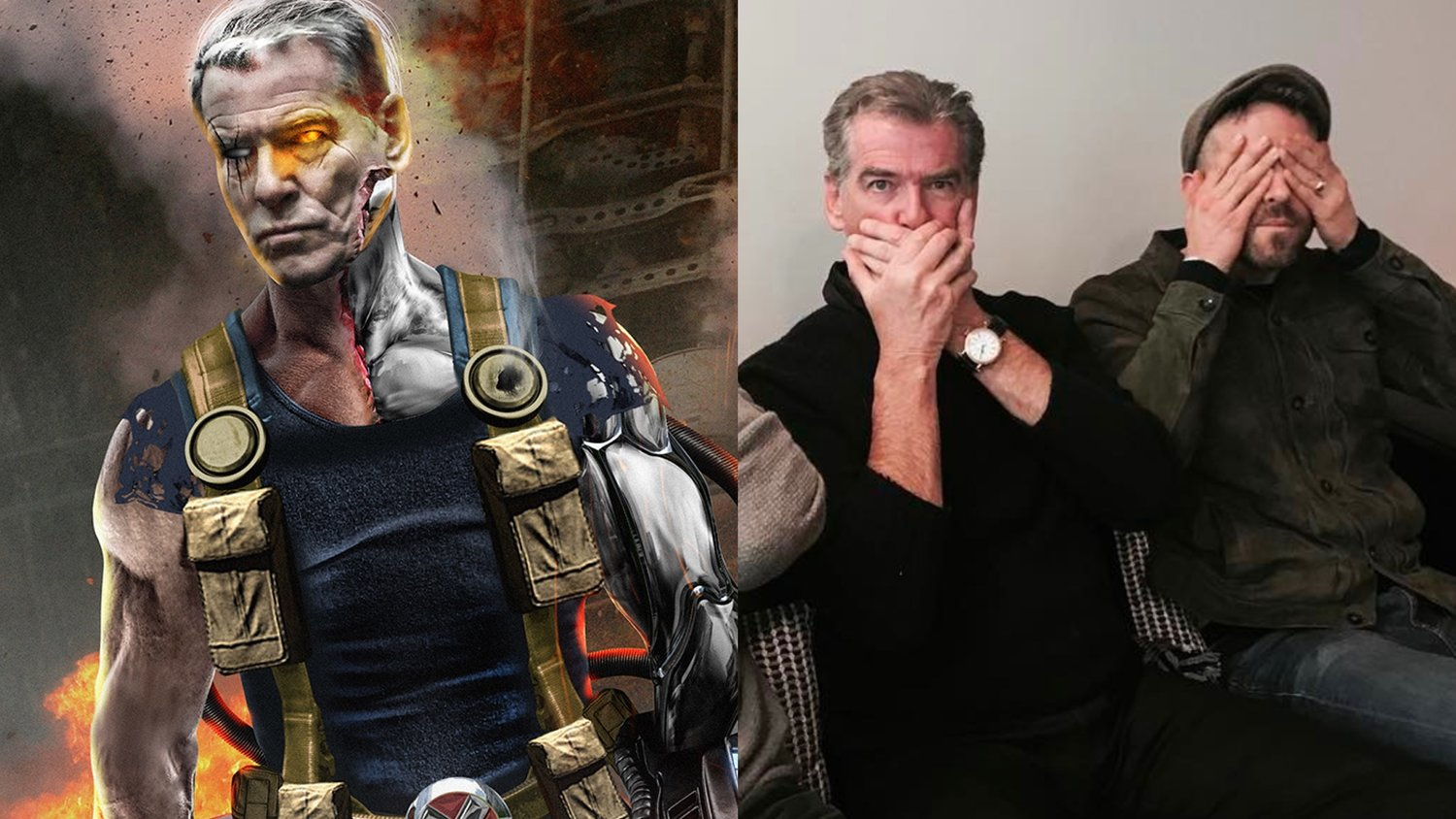 Pierce Brosnan Is Reportedly in Early Negotiations to Play Cable in DEADPOOL 2