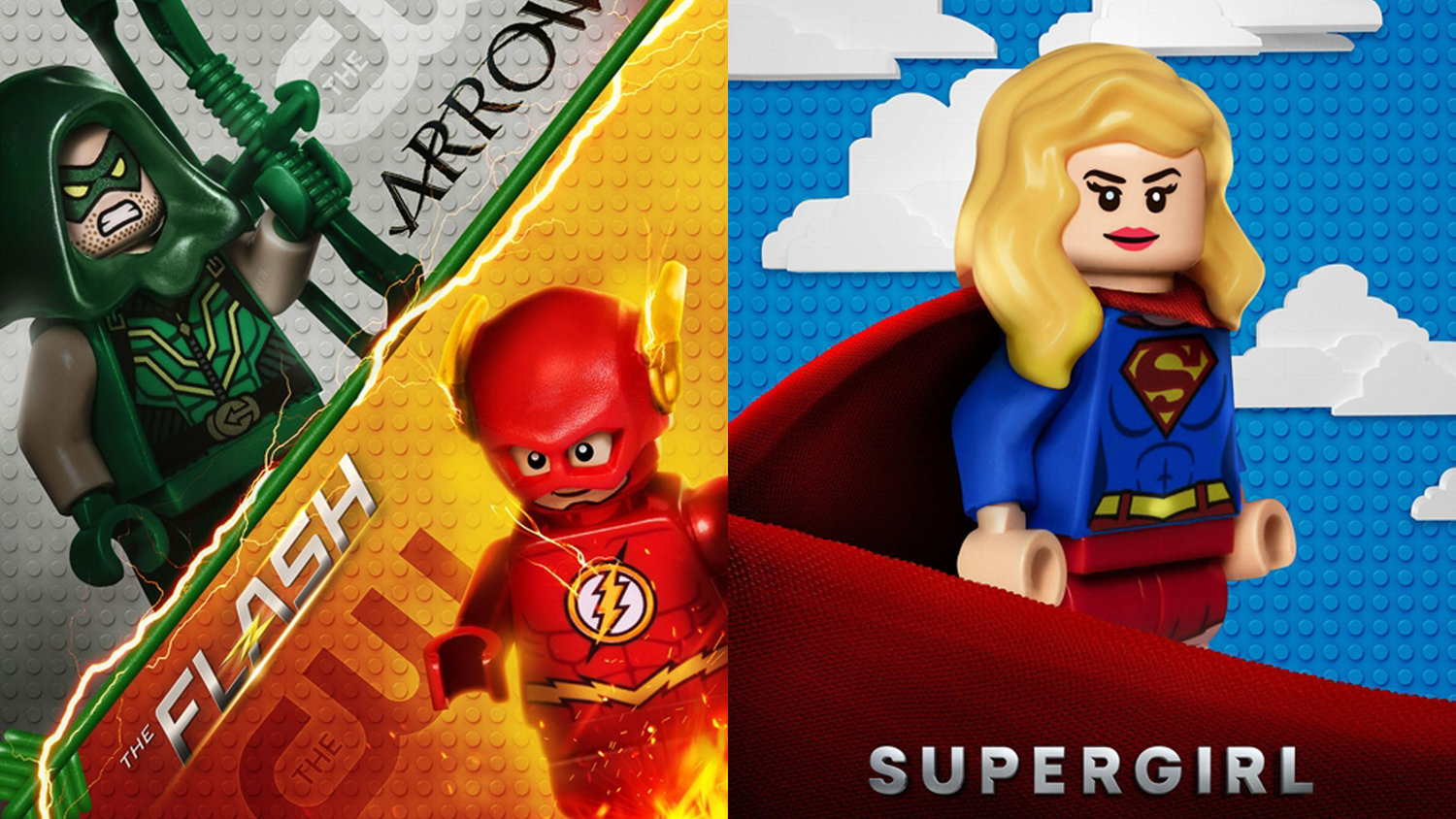 THE FLASH, SUPERGIRL, GOTHAM, and More Get Bricked Out to Promote THE LEGO BATMAN MOVIE
