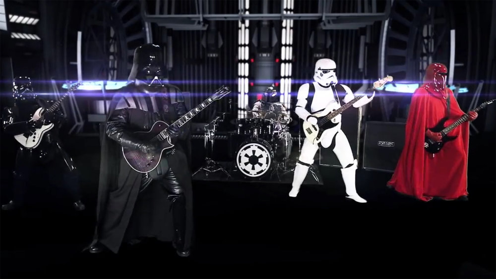 Galactic Empire's STAR WARS Metal Album Has Arrived ...