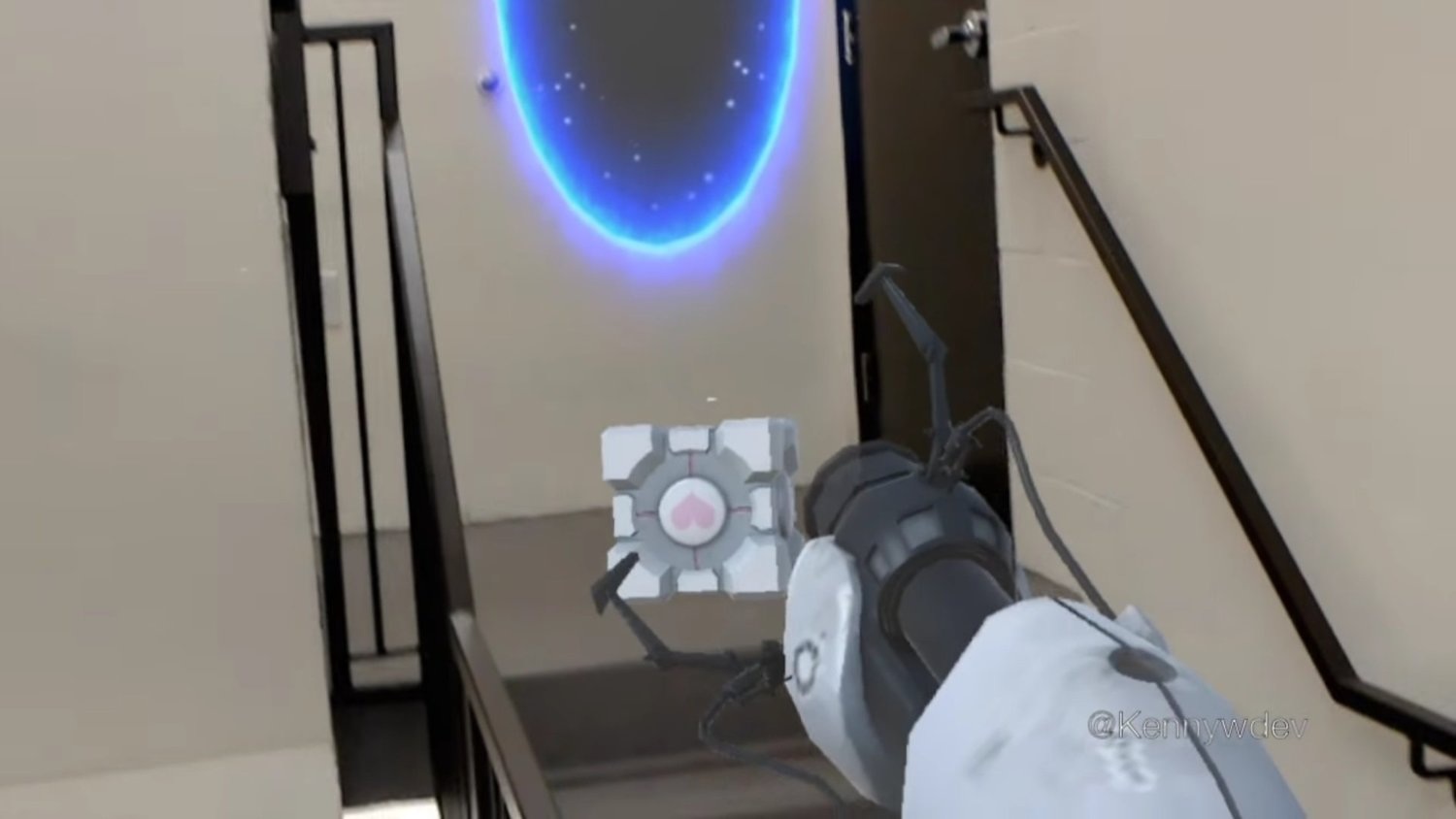 Indie Developer Brings PORTAL to the Hololens