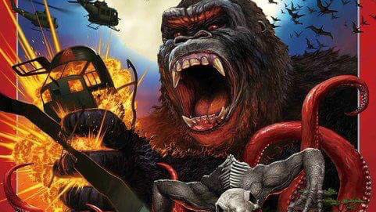 Japan's Poster Art for KONG: SKULL ISLAND Has an Awesome Classic Feel