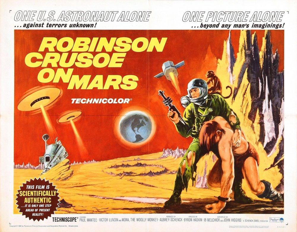 The NJNM Podcast: Ep. 108 — Robinson Crusoe on Mars