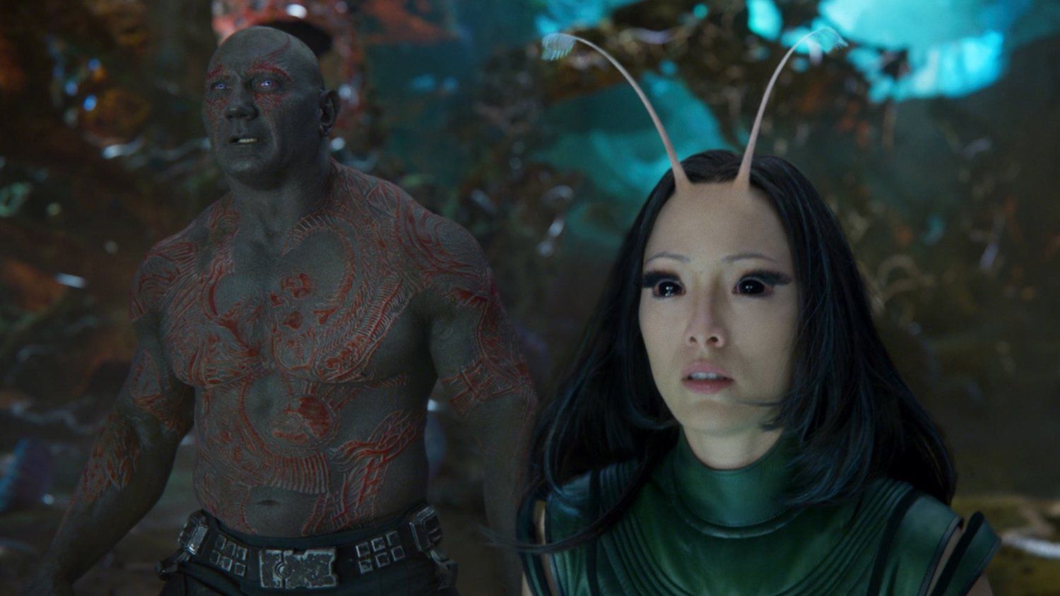 Pom Klementieff Teases an Awkward Romance Between Mantis and Drax in GUARDIANS OF THE GALAXY VOL. 2