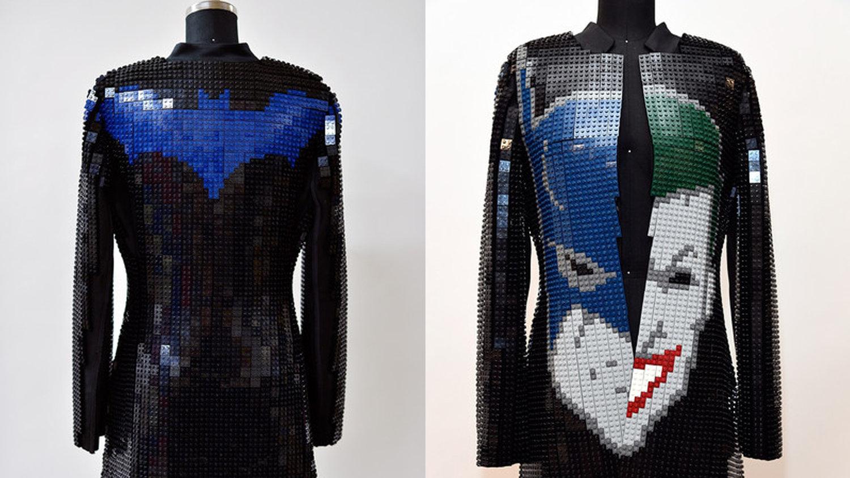 DC's Diane Nelson Rocked a 10,000 Brick LEGO Batman Jacket