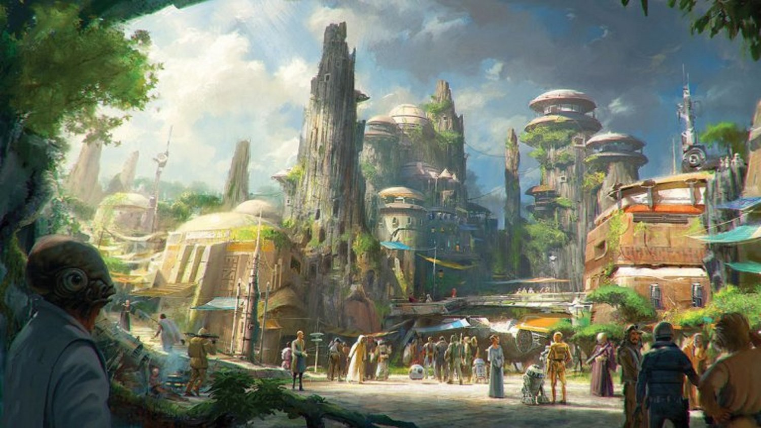 STAR WARS Land to Officially Open in Orlando in 2019