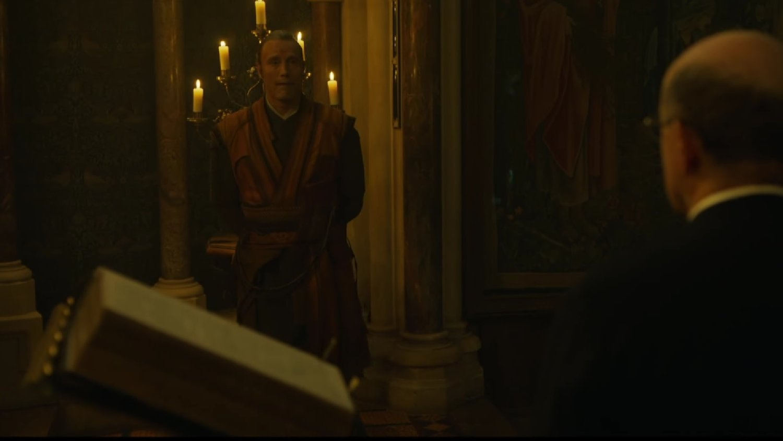 Kaecilius Kills Priest and Stephen Strange Help's a Dog in DOCTOR STRANGE Deleted Scenes