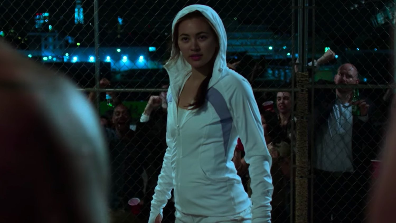 First Clip From IRON FIST Features Colleen Wing Kicking Ass in a Cage Fight