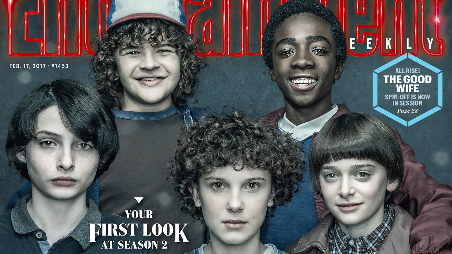 STRANGER THINGS EW Cover; Creators Discuss the New Challenges of Season 2
