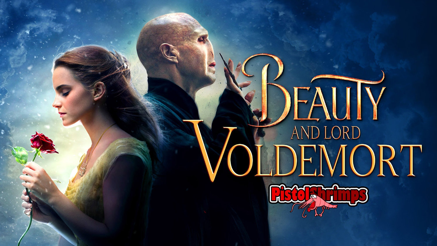 This HARRY POTTER/BEAUTY AND THE BEAST Mashup Is Disturbing (But Incredibly Well Made)