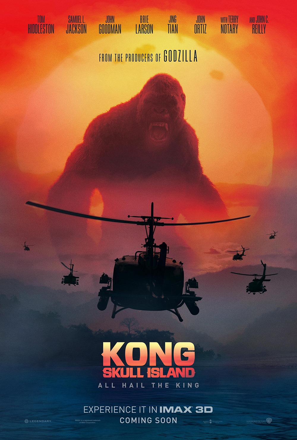 2 Cool Extended Spots for KONG: SKULL ISLAND Focus on a Place Where Myth and Science Meet-social