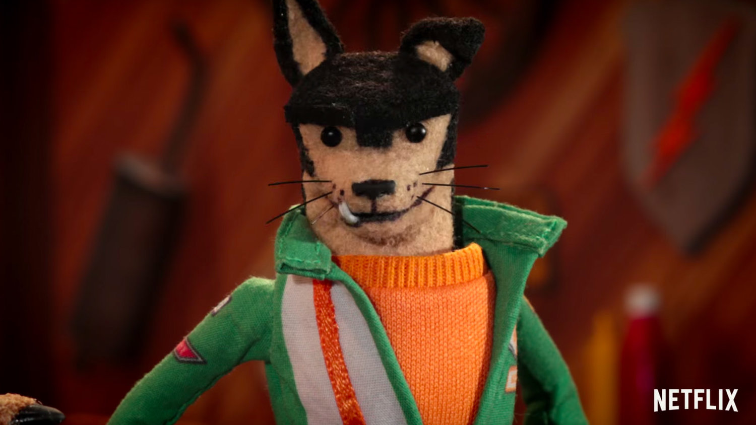 Netflix's BUDDY THUNDERSTRUCK Looks Like a Stop-Motion TALLADEGA NIGHTS Mixed with THE FANTASTIC MR. FOX
