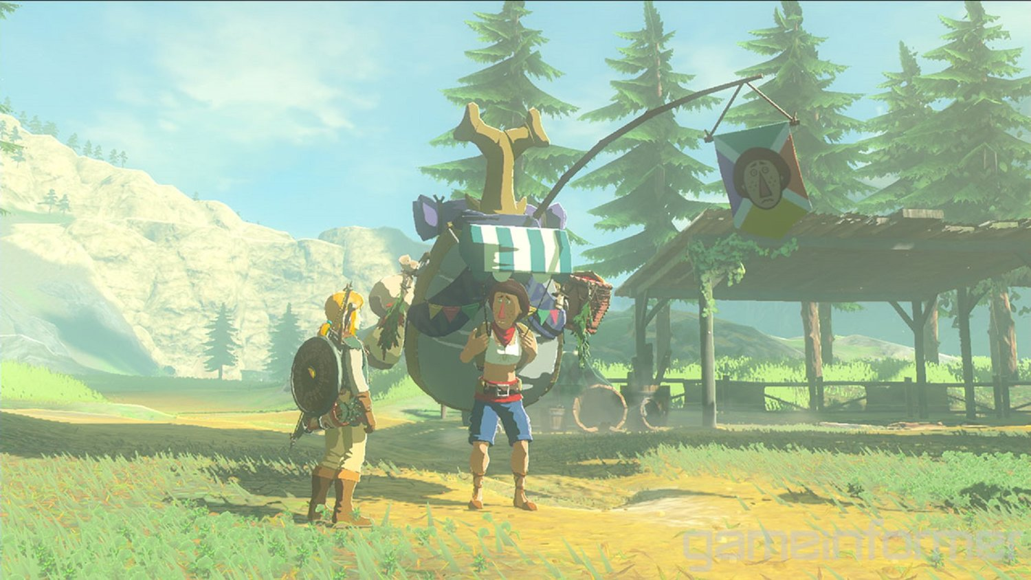 Appearance Of Old Character In ZELDA: BREATH OF THE WILD Potentially Hints At Timeline