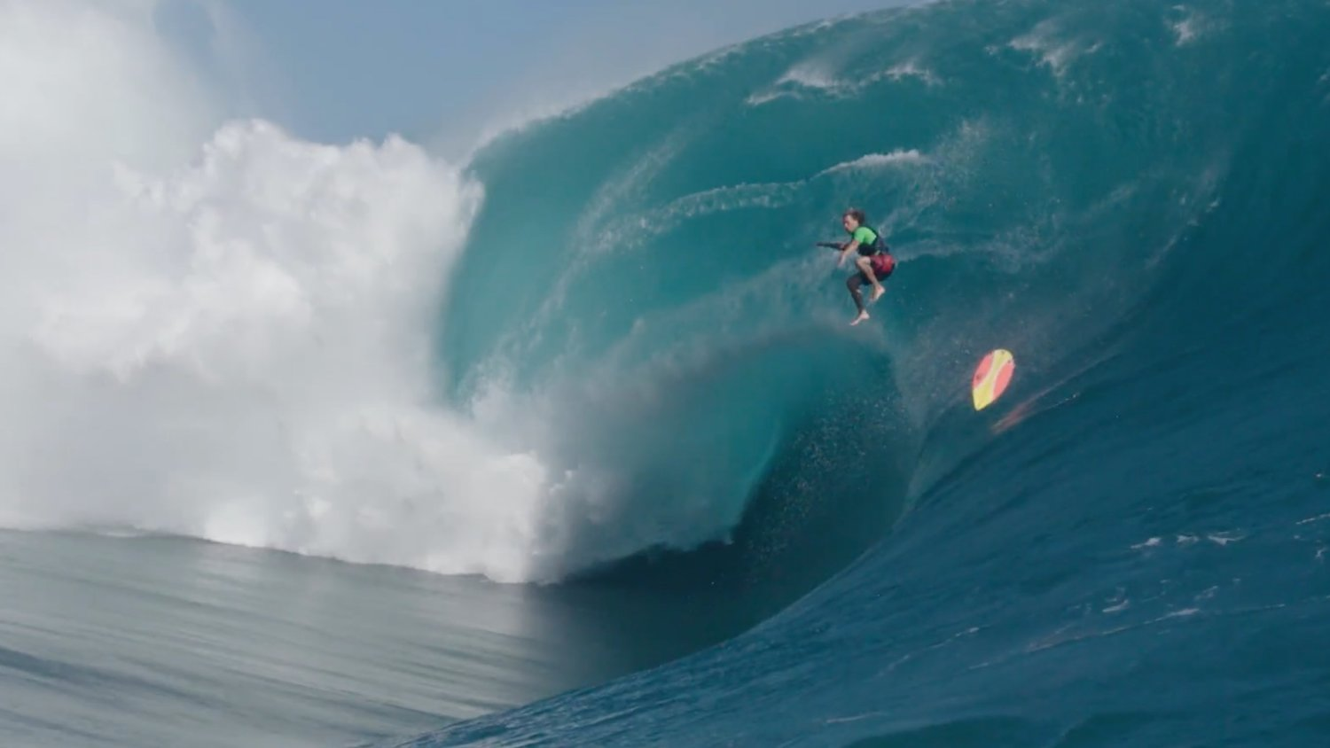 Insane Trailer for the Surfing Documentary THE BIG WAVE PROJECT
